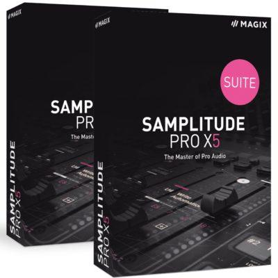 Samplitude Pro X5 y Pro X5 Suite. Licencia educativa. Actualizaciones