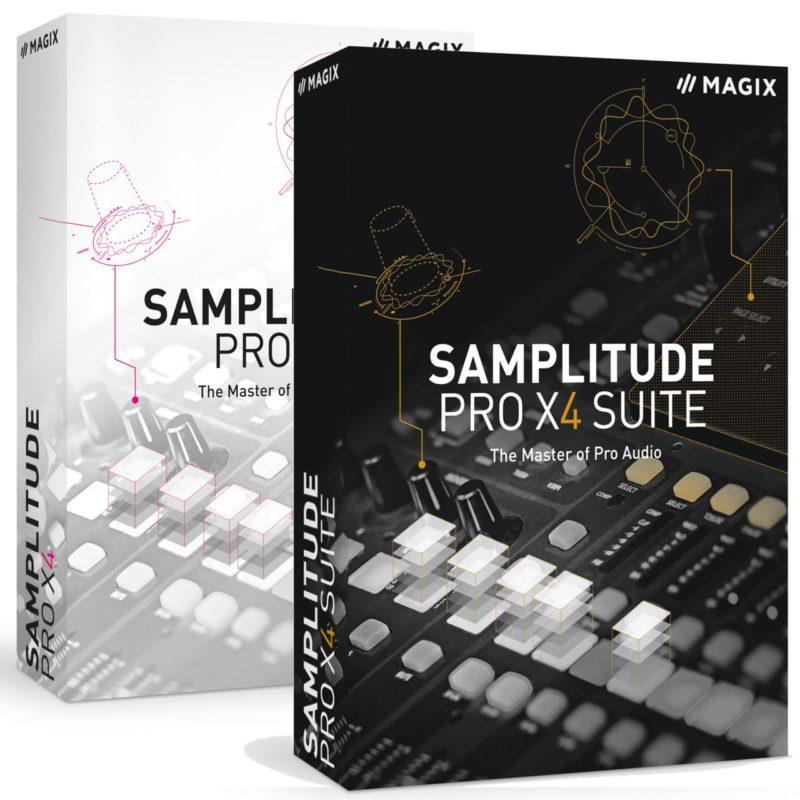 Samplitude Pro X4 edu