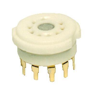 Base 9 Pin PC gold