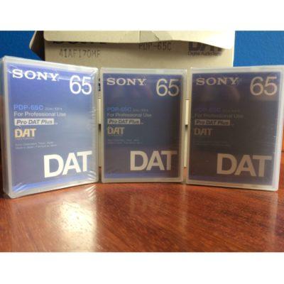 Pack Sony DAT PDP-65C