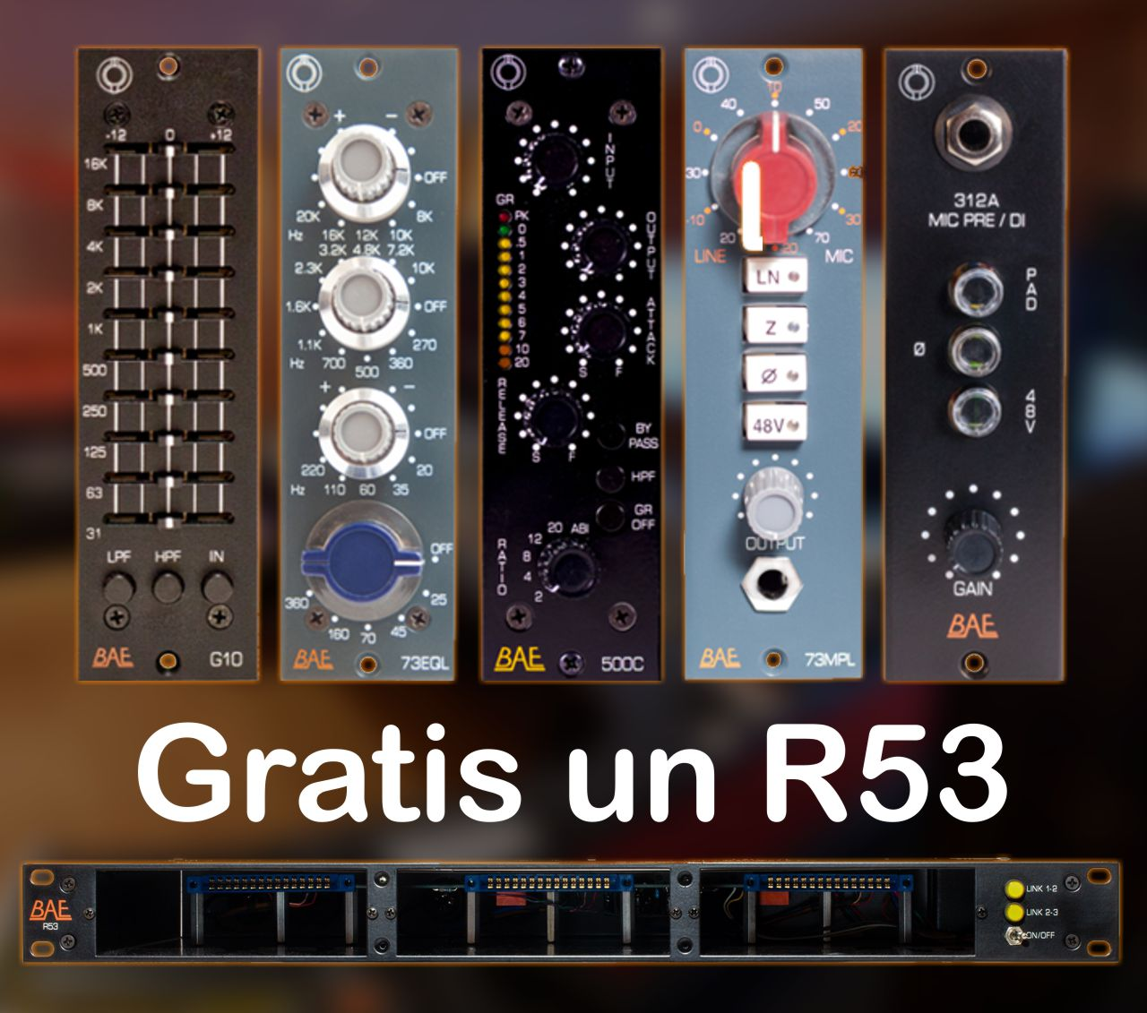 BAE R53 Rack GRATIS. ¡Oferta especial!