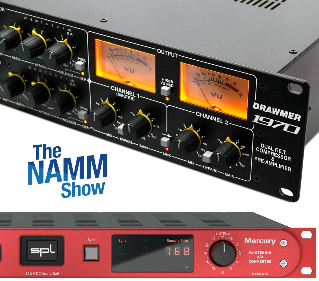 Drawmer y SPL Audio en NAMM 2020