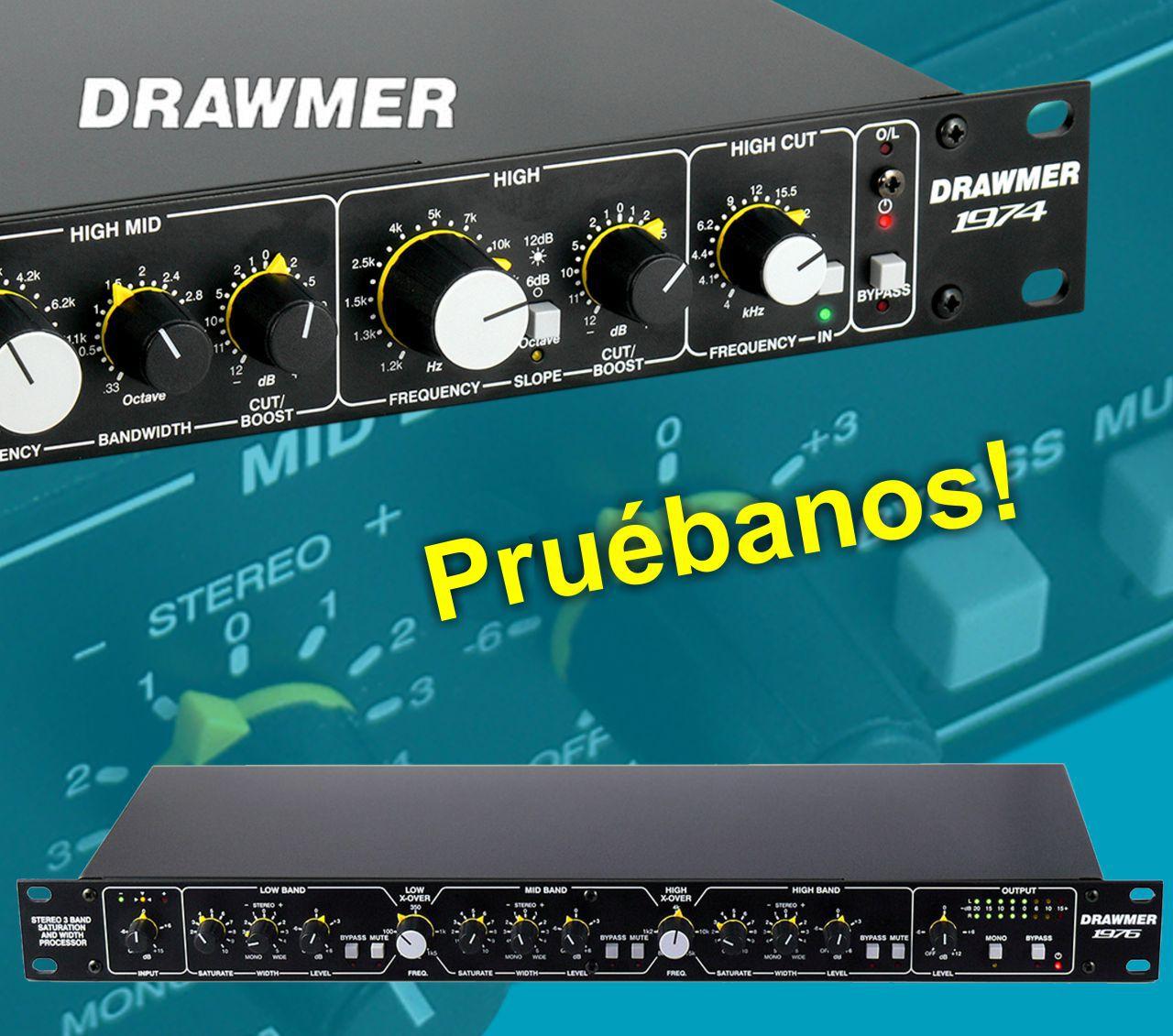Noticia probar Drawmer
